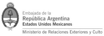 Embajada de Argentina en México